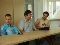 1. Cristian Ignat 2. Gabriel Enea 3. Andrei Gheorghescu